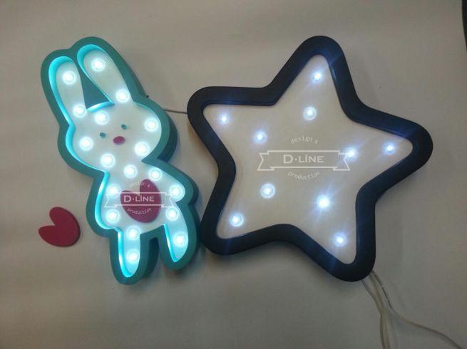 Таблички с диодной подсветкой